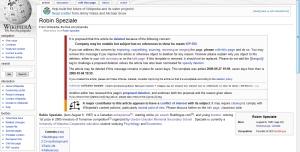 Robin_Speziale_Wikipedia_Page_deleted