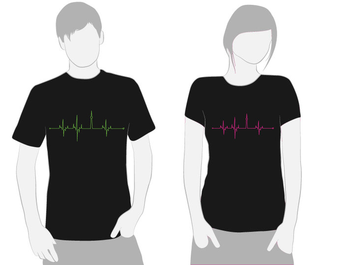 HeartBeats T.O. T-Shirt Designs